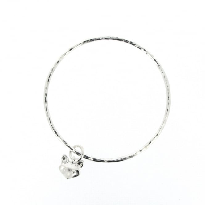 Alexis Dove Foxy Bangle Silver ~ FOXYBG-SIL