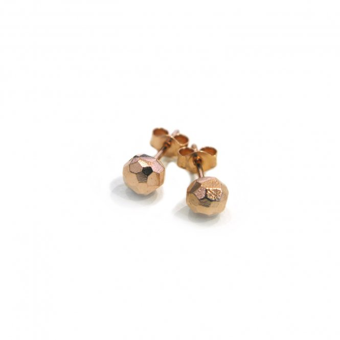 Alexis Dove Olive Mini Earrings Rose Gold ~ APOE1GVR