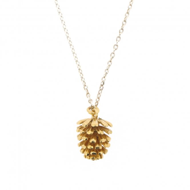Alexis Dove Pinecone Pendant Large Gold ~ WMPCP2-SIL/GV
