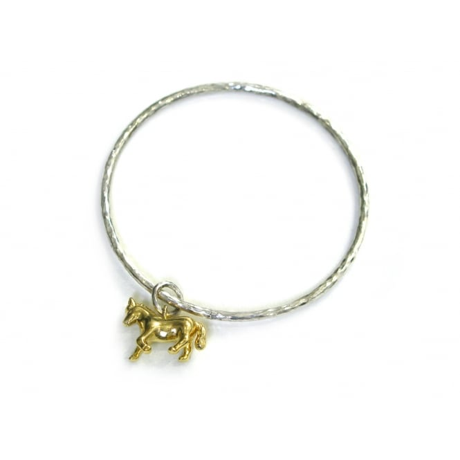 Alexis Dove Pony Bangle Gold ~ MEPOB1-MIX