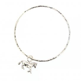 Alexis Dove Pony Bangle Silver ~ MEPOBA-SIL