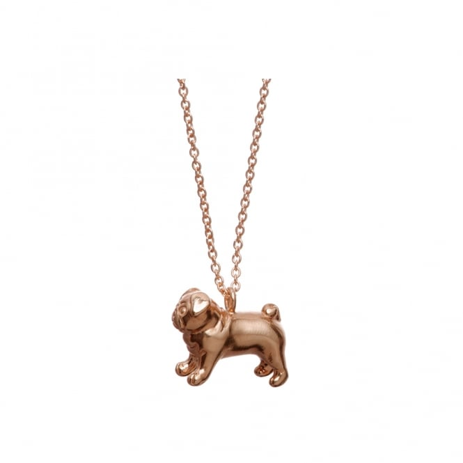 Alexis Dove Pug Pendant - Rose Gold ~ MEPUP-GVR