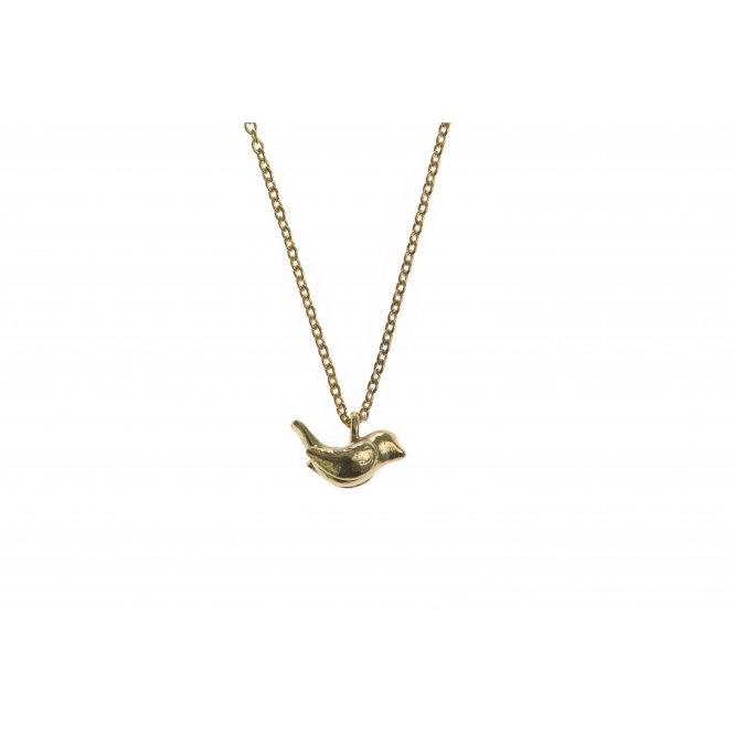 Alexis Dove Small Wren Pendant - Yellow Gold ~ BLWP1GVY