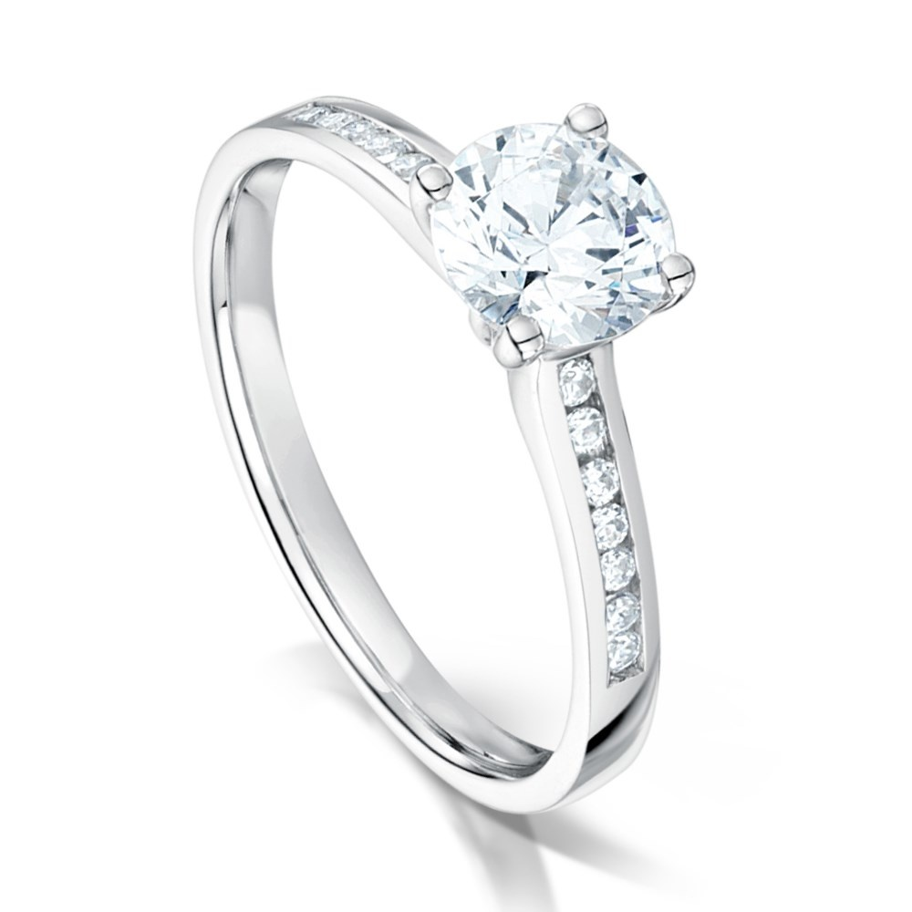 product gear jewellers gold diamond solitaire ring martin white claw