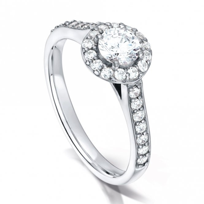 Arctic Circle Fancy Solitaire Diamond Ring ~ AC2150008