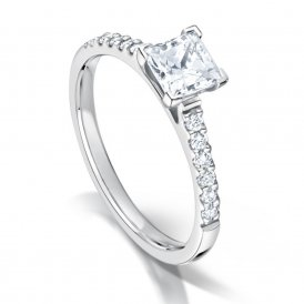 Arctic Circle Fancy Solitaire Diamond Ring ~ AC2150010