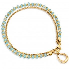 Astley Clarke Gold Apatite Biography Bracelet ~ 37515YGEBMD