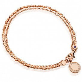 Astley Clarke Rose Gold Cosmos Biography Bracelet ~ 37505RNOBMD