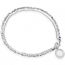 Astley Clarke Silver Cosmos Biography Bracelet ~ 37505SNOBMD