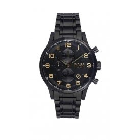 BOSS Aeroliner Chronograph Black Gents Watch