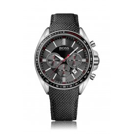 BOSS Leather Gents Chronograph Watch 1513087