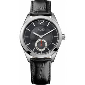 BOSS Leather Gents Watch 1512793