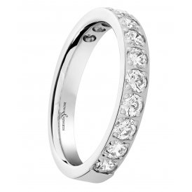 Brown & Newirth Diamond Set Wedding Ring N
