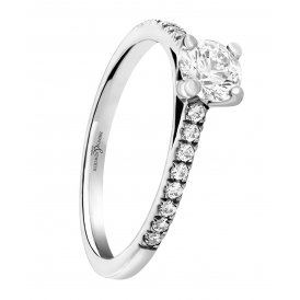 Brown & Newirth Fancy Solitaire Diamond Ring ~ EN138R3618WSZ:L