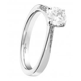 Brown & Newirth Fancy Solitaire Diamond Ring ~ EN201R46
