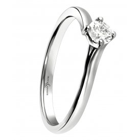 Brown & Newirth Platinum Solitaire Diamond Ring ~ SPECPLTSZ:L