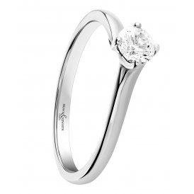 Brown & Newirth Platinum Solitaire Diamond Ring ~ SPECPLTSZ:M
