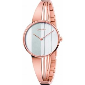 Calvin Klein Drift Rose Gold Ladies Watch ~ K6S2N616