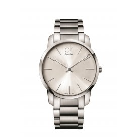 Calvin Klein Stainless Steel Gents City Watch K2G21126
