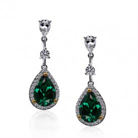 Carat* Baptisia Pear Drops in Green 12718