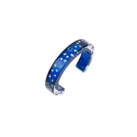 Cayoo Blue Bubbles Bangle Medium CY12BA06M