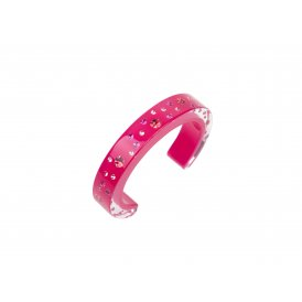 Cayoo Pink Bubbles Bangle Medium CY12BA02M