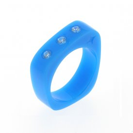 Cayoo Thin Blue Ring CYPR00001S