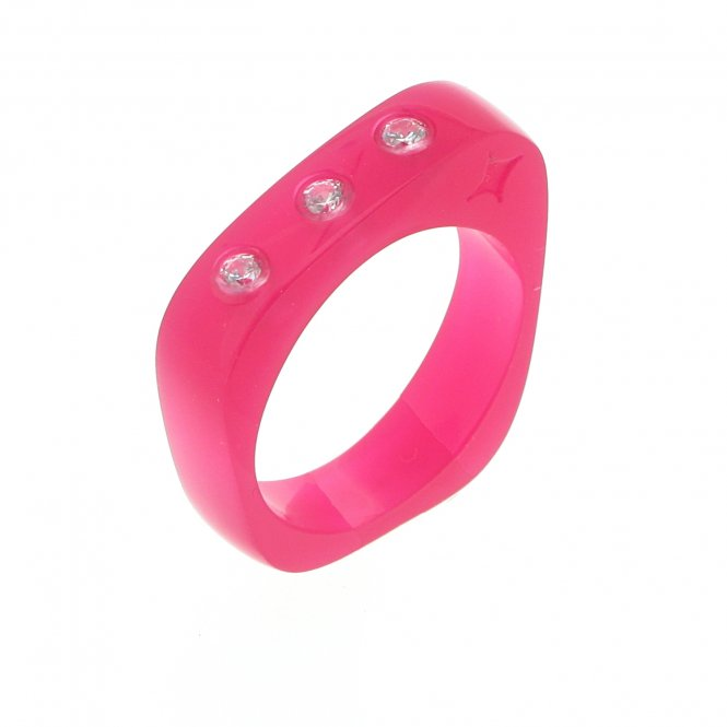 Cayoo Thin Pink Ring CYPR00003L