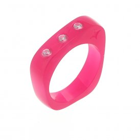 Cayoo Thin Pink Ring CYPR00003S