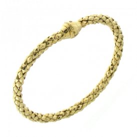 Chimento Stretch Classic Yellow Gold Bracelet 18cm 1B00850ZB1180
