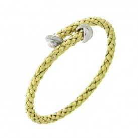Chimento Stretch Classic Yellow Gold Bracelet 18cm 1B00854BB2180