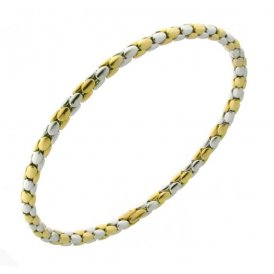 Chimento Stretch Spring Yellow White Bracelet 18cm 1B00952ZZ2180