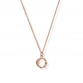 ChloBo Dainty Night Sky Necklace - Rose Gold ~ RNC581
