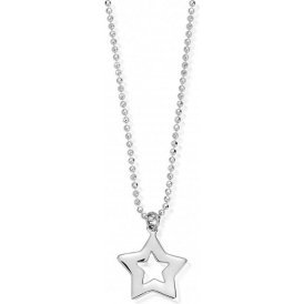 ChloBo Diamond Cut Chain with Open Star Pendant ~ SCDC05812