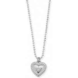 ChloBo Diamond Cut Chain with Star Heart Pendant ~ SCDC05004