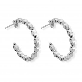 ChloBo Evil Eye Hoop Earrings ~ SEH493