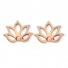 ChloBo Lotus Stud Earrings ~ REST496