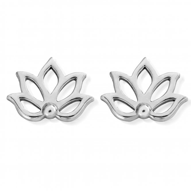ChloBo Lotus Stud Earrings ~ SEST495