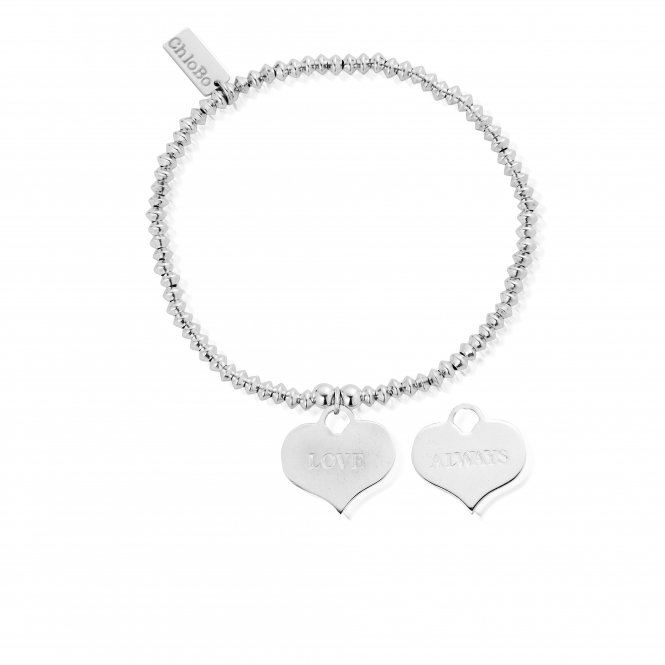 ChloBo Mini Disc Love Always Bracelet ~ SBMD209