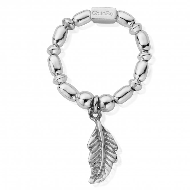 ChloBo Mini Rice Feather Ring ~ SRMR2725
