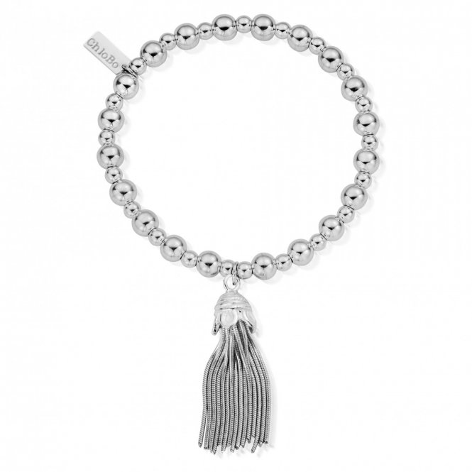 ChloBo Mini Small Ball Tassel Bracelet ~ SBMSB933
