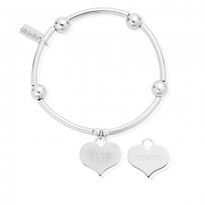 ChloBo Noodle Ball Love Always Bracelet ~ SBNB209