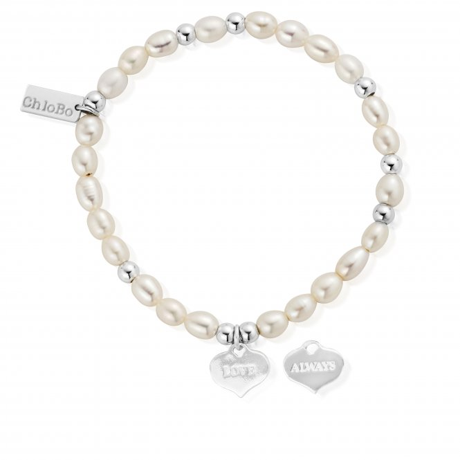 ChloBo Pearl Love Always Mini Bracelet ~ SBPMIN204