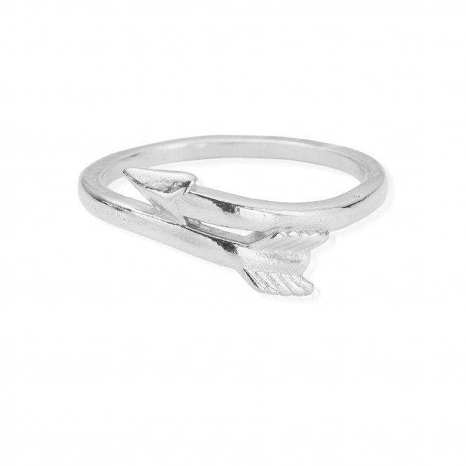 ChloBo Silver Cherish Arrow Ring J