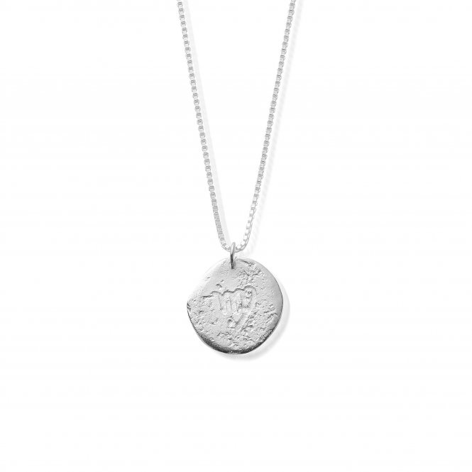 ChloBo Silver Zodiac Virgo Necklace ~ SNZOD862