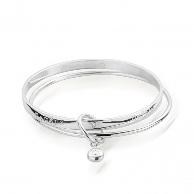 ChloBo Starry Eyes Zodiac Bangle Taurus