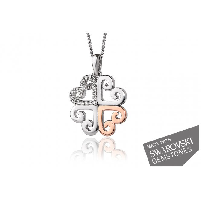 Clogau Affinity Heart Pendant ~ 3SEHP
