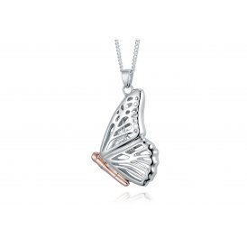 Clogau Butterfly Locket Large ~ 3SBWLP