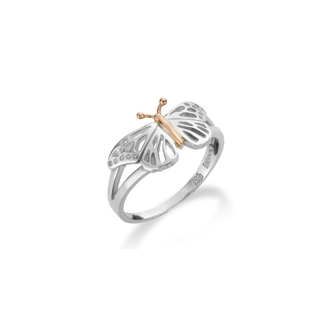 Clogau Butterfly Ring ~ 3SBWLR/M