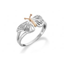 Clogau Butterfly Ring M